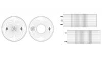 Multi-size gumeni blindovi za cevovode velikih prečnika. Plugy i plugsy